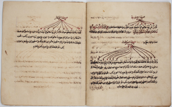 Sifat Dua Puluh, another manuscript copy from the Khairullah collection, Penyengat, Riau. British Library, EAP153/5/1, image 13
