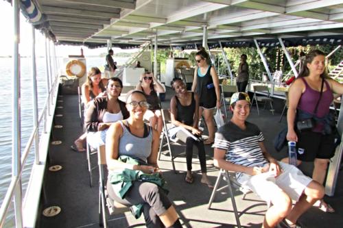 Chobe boat ride