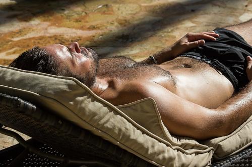 Sun bathing 1