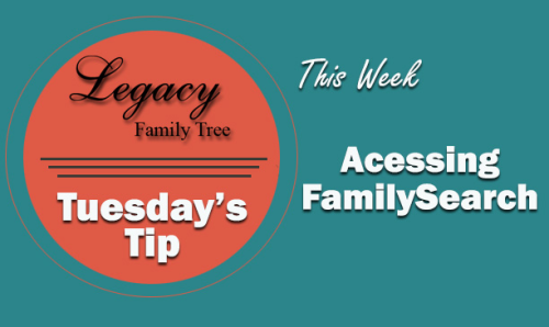 Accessing FamilySearch