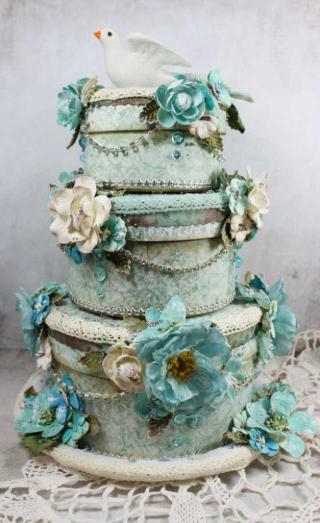 Dove cake 4