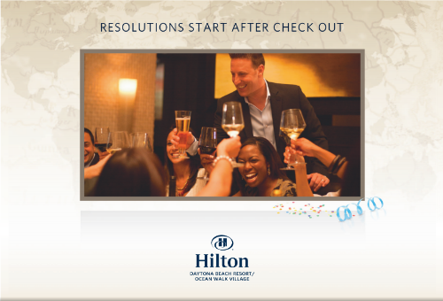Hilton Daytona Beach NYE Package