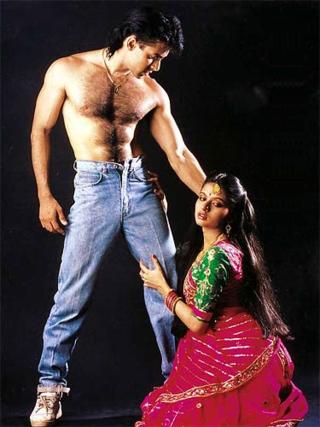 Salman-khan-image-in-Maine-Pyar-Kiya