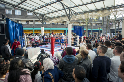 9. Chrisp Street on Air - Boxing at the Market