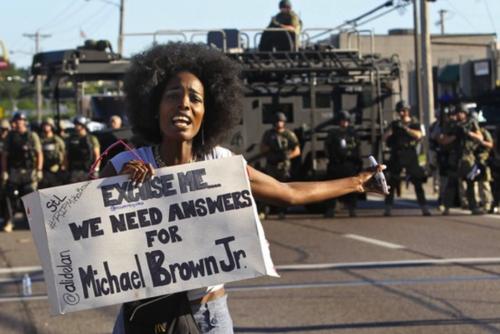 Ferguson woman
