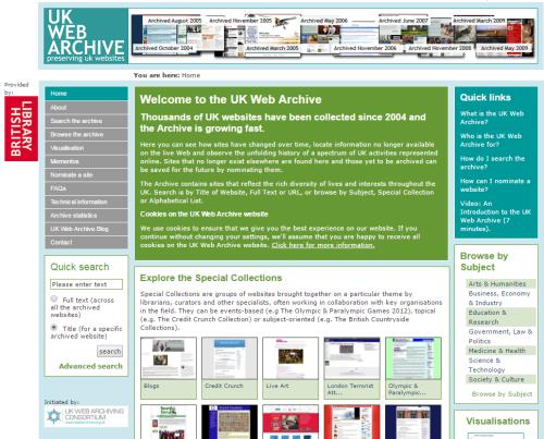 Screenshot-ukwa-homepage