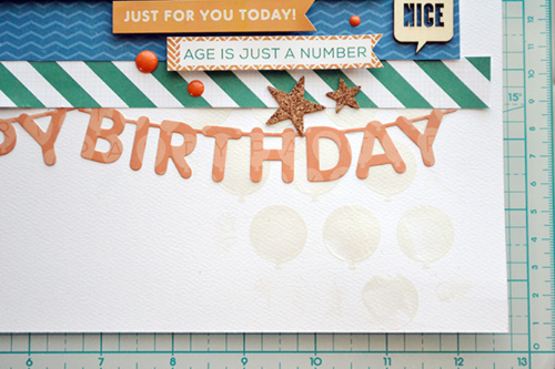 "Happy Birthday layout featuring ""Birthday Wishes"" by Aly Dosdall for #echoparkpaper"