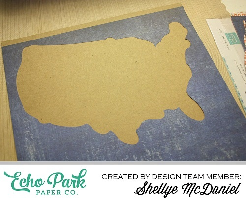 """""""Off Road"""" Signage by Shelly McDaniel with the """"Off Road"""" collection by #EchoParkPaper and Silhouette Cut file"""