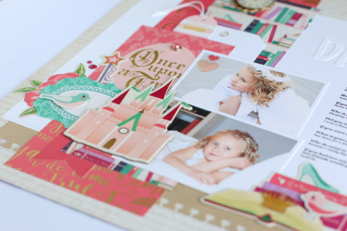 "Create a layout fit for a princess like this one by Anya Lunchenko with the ""Once Upon a Time, Princess"" collection from #EchoParkPaper"