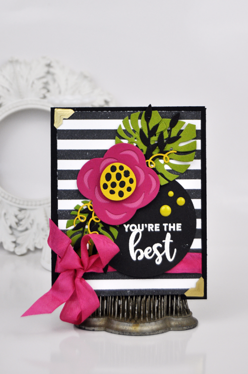 You're the Best Card by Jen Gallacher #EchoParkPaper #CartaBellaPaper