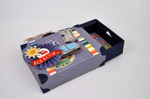 "Lets Cruise Suitcase by Jana Eubank for ""CartaBellaPaper"