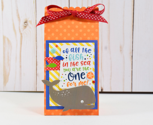 "Gift bag trio by Tya Smith with the ""Under the Sea"" collection from #EchoParkPaper"