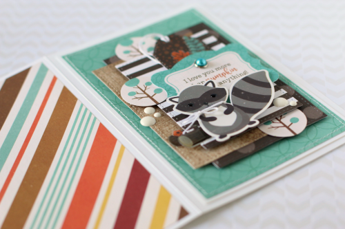 """Fall cards by Anya Lunchenko featuring the """"A Perfect Autumn"""" collection by #EchoParkPaper"""