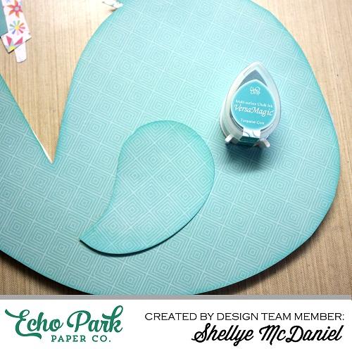 """I Love Sunshine"" Bird Hanger by Shellye McDaniel for #echoparkpaper"