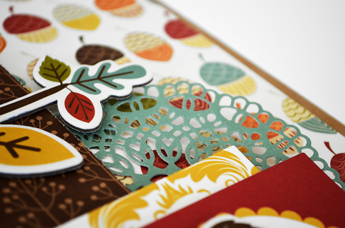 "Autumn gift  bag by @wendysue for #EchoParkPaper with their ""Fall is in the Air"" collection and #designerdie"
