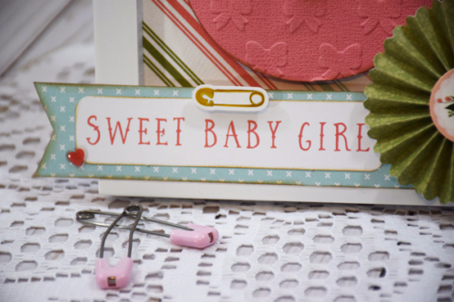 "Baby Girl Gift Set by Tya Smith featuring the ""Rock-A-Bye Baby Girl"" collection by #CartaBellaPaper"