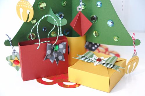 Christmas Countdown Week: Christmas Tree Countdown by Jana Eubank for #EchoParkPaper and #CartaBellaPaper