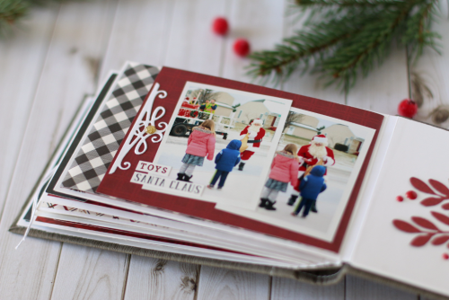 'Twas the Night Before Christmas mini album by Anya Lunchenko for #EchoParkPaper