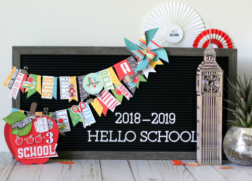 """""""Back to School"""" banner by Anya Lunchenko for #EchoParkPaper"""