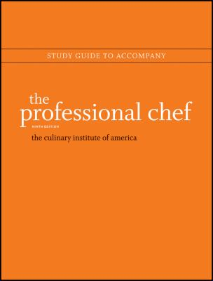 Study guide to accompany The professional chef