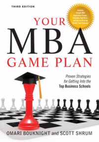 Your MBA game plan proven strategies for getting into the top business schools by Omari Bouknight
