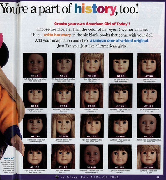 Toy Names A Z : Learning american history from girls global toy