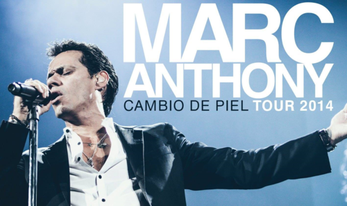 Marc Anthony on Tour