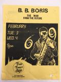 Poster: B.B. Boris, The Man From The Future