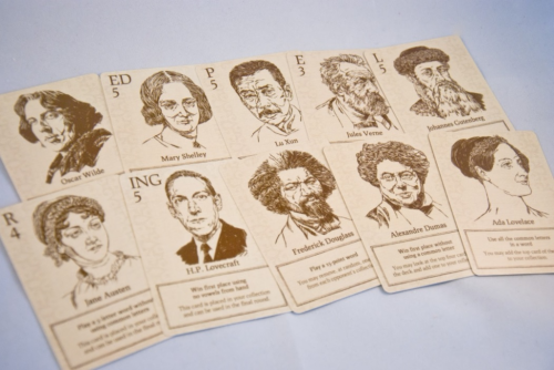 Movable Type - Illustrated Famous People
