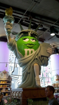 The M&M version of one of my favorite ladies