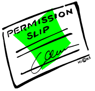 Permission!
