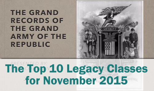The Top 10 Legacy Classes for November 2015