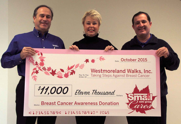 Smail Auto Group Cares Campaign Raises 67 000 During
