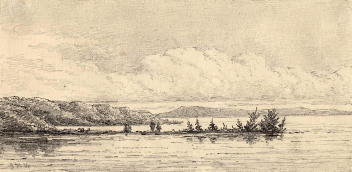 Lake Muskoka sketch