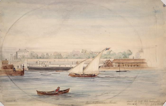 The 'Donna del Lago, RCYC boat