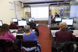 Computer Class at Agincourt Branch