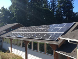 Solar Panels at NOLS Pacific Northwest