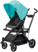 : Orbit Baby G3 Stroller - Teal - Black - Black
