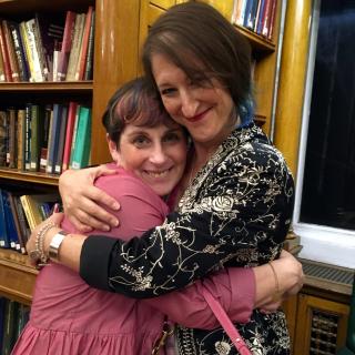 Susanna Kearsley and Julie Cohen