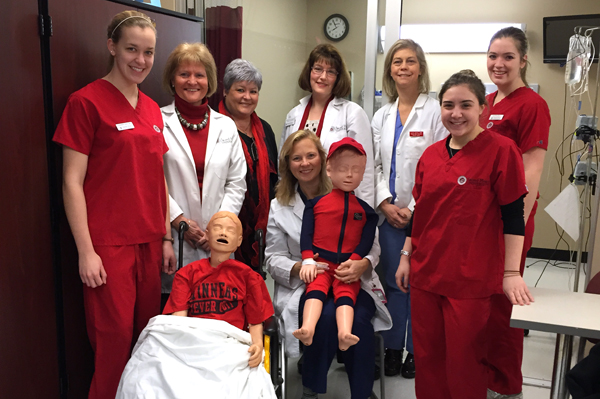 SHU Nurses Wear Red