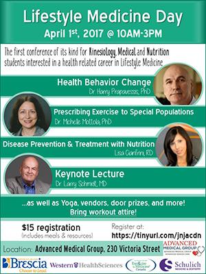 EIM Lifestyle Medicine Day  Poster