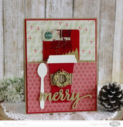 Christmas Card Gift Card Holder