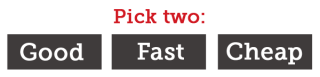 Good-fast-cheap