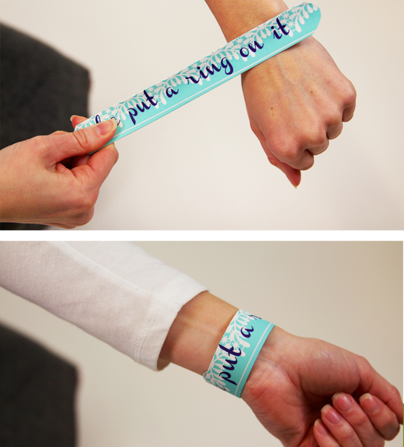 Customize Your Next Big Event with DIY Slap Bracelets!