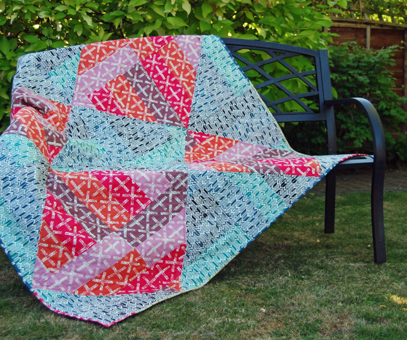 Quilts are donated from all over the world, making each quilt one of a kind!
