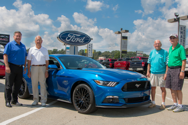 Hole in One wins 2017 Ford Mustang at Blairsville Library Charitable Foundation Event