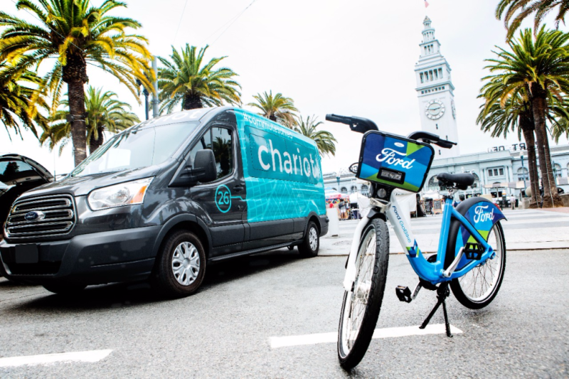 Ford to Acquire Chariot ride sharing shuttle service and grow bike sharing company - Smail Ford Blog