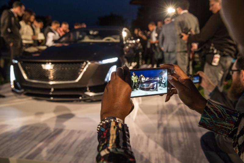 Cadillac Escala Concept unveiling - Smail Cadillac Blog