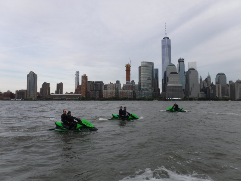 New York Harbor Jet Ski  May 2017