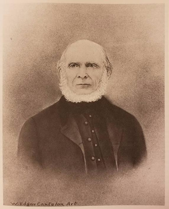 Portrait of William Pope